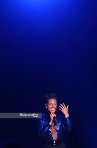 File: Alicia Key In Concert