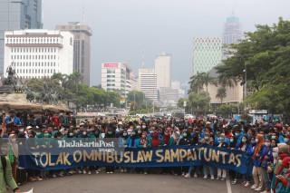 Tolak Omnibus Law