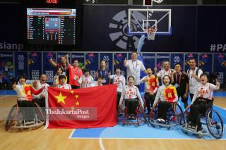 Basket Kursi Roda Asian Para Games 2018_ China