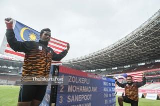 Para atletik Asian Para Games 2018_MUhammad Ziyad dan Mohamad Aliff