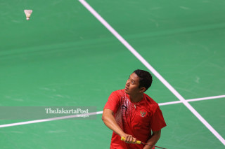 Fredy Setiawan, the Indonesian Badminton athlete.