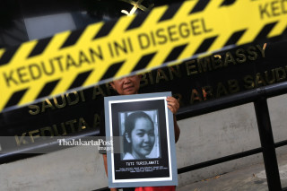 Indonesia migrant execution protest
