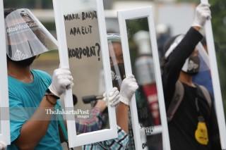 #BersihkanINDONESIA TOLAK Omnibus Law
