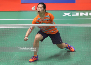 -Babak Ketiga Tunggal Putri China vs Indonesia