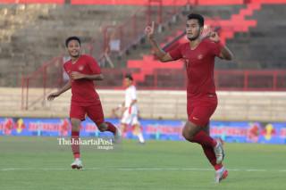 Pertandingan persahabatan Indonesia U-23 melawan Timnas Iran di Bali