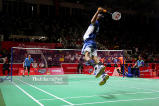Para badminton putra Final Asian Para Games 2018_India