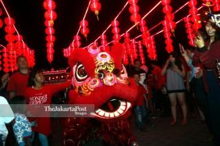 Perayaan Imlek di Bali