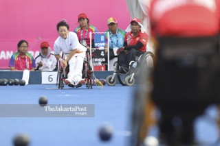 Lawn Bowl Asia Para Games 2018_Korea