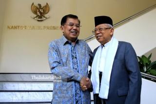 JK meets Ma'aruf Amin