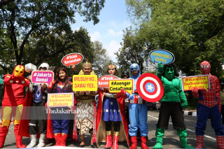 Avengers for anti riots