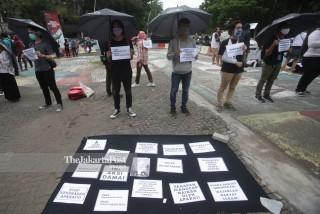 Aksi Diam Kecam Represif Aparat