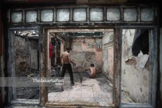 Kebakaran Tomang Utara Jakarta