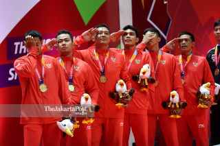 Badminton Asian Paragames 2018 Final