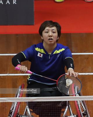 -Semifinal Tunggal Putri WH China vs Jepang