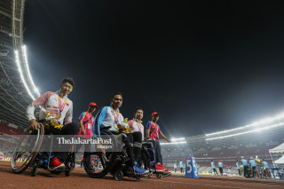 Para atletik Asian Para Games 2018_China
