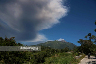 Merapi eruption