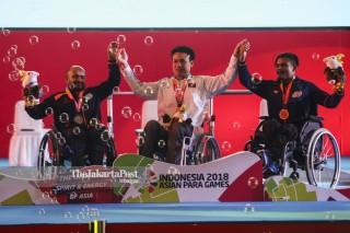 Final Para Powerlifting Putra 45 Kg  Asian Para Games 2018