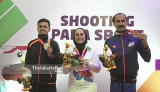 Para Shooting Asian Para Games 2018_Iran, India