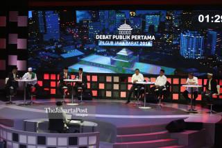 File: Debat Publik Pilgub Jabar