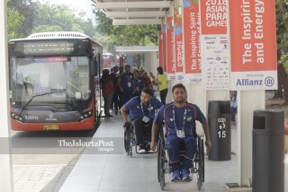 Kedatangan Atlet Asian Para Games 2018