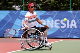 Tenis Kursi Roda Asian Para Games 2018_Korea