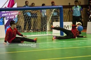Goal Ball Asian Para Games 2018 - Putra - Cina vs Korea
