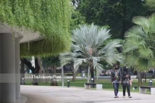 Taman Lapangan Banteng Dibuka