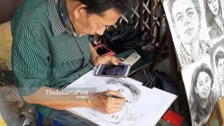 Street Artist of Kota Tua