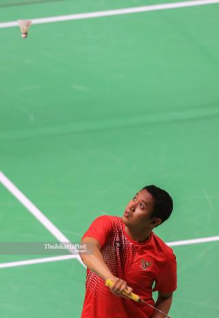 Fredy Setiawan, the Indonesian Badminton athlete.