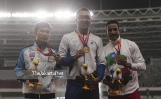 Para atletik Asian Para Games 2018_Uzbekiztan, Thailand, dan Iran