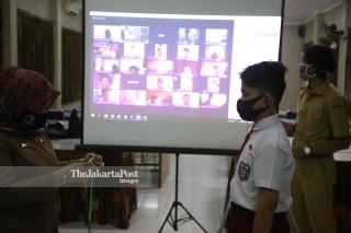 Hari Pertama Sekolah di Bogor