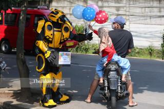 Pedagang Balon