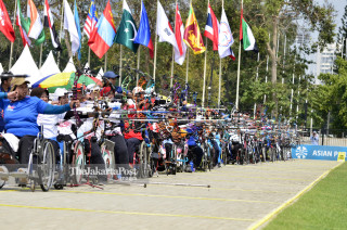 Peserta Cabang Panahan Asian Para Games 2018