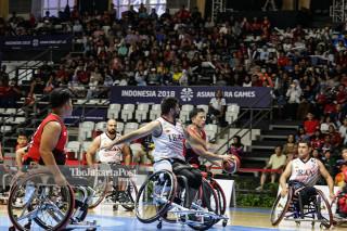 BASKET ASIAN PARA GAMES 2018 - Indonesia vs Iran