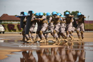 Indonesia National Police for United Nations peacekeeping
