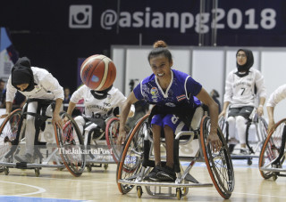 Asian Paragames 2018 wheel chair basketball