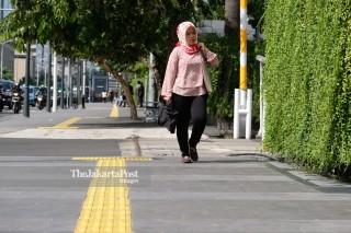 Kawasan Pedestrian Thamrin Jakarta