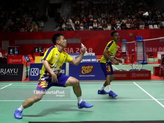 -Final Beregu Putra Indonesia vs Malaysia