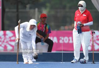 LAWN BOWLS ASIAN PARA GAMES 2018