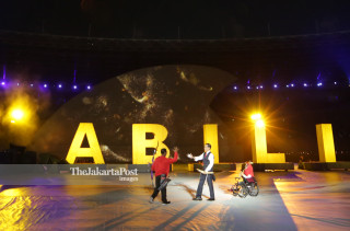 Asian Paragames 2018 opening Performance