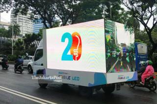Truk LCD Advertising