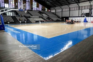 Venue Hall A Basket Senayan