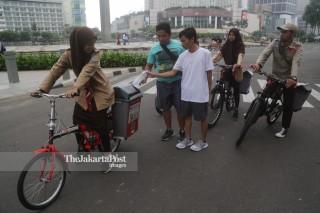 Sepeda Sampah Pramuka