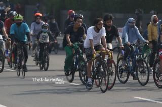 Warga Jakarta Bersepeda
