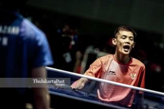 Yayang Gunaya on Table tennis from Indonesia