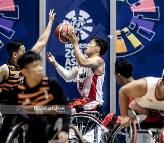 Basket Kursi Roda Asian Para Games 2018_ Indonesia vs Malaysia