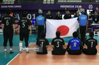 - Volley Duduk Putri Jepang Asian Para Games 2018