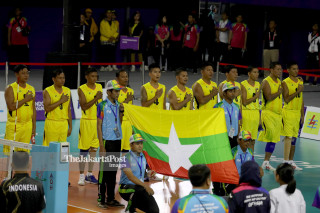 -Tim Volley Duduk Myanmar Asian Para Games 2018