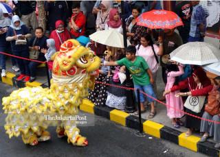 Perayaan Imlek di Malang