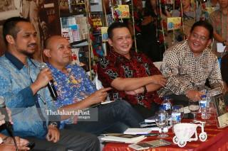 "File;  Peluncuran Buku Berjudul ""Hoegeng Polisi dan Menteri Teladan"" karya Suhartono"